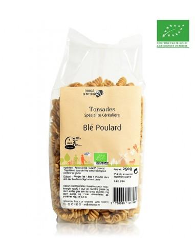 Pâtes bio Torsades blé poulard 250g