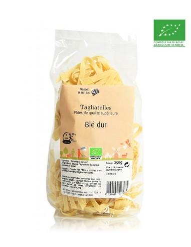 Pâtes bio Tagliatelles blé dur 250g