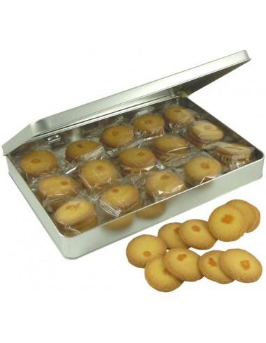 Boîte A4 Pornichet, activités de plage garnie de biscuits