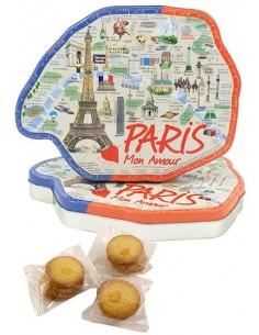 Boîte Paris garnie 210g de galettes fines