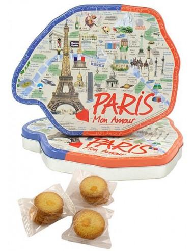 Boîte Paris garnie 210g de punchs galettes fines