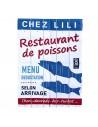 Torchon Chez Lili restaurant de la mer Sophie C.