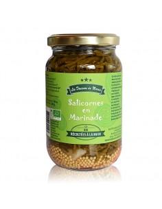 Salicornes BIO en marinade pot 360g