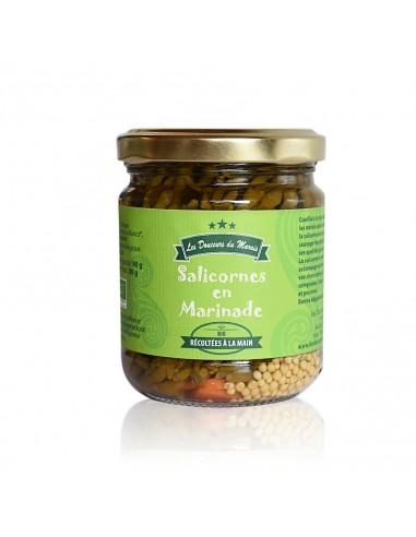 Salicornes en marinade de guerande pot 200g