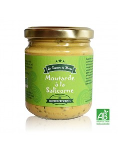 Moutarde à la salicorne pot 200g