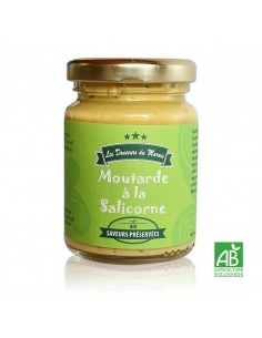 Moutarde à la salicorne pot 90g