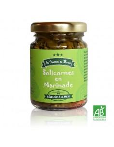 Salicornes Bio en marinade pot 90g