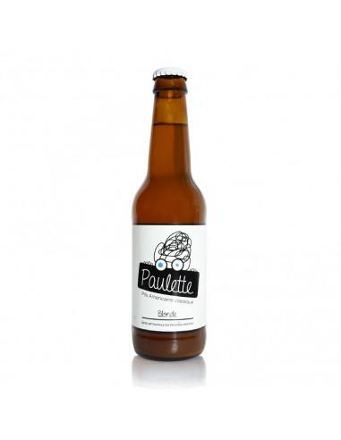 Bière Paulette Blonde bouteille 33cl