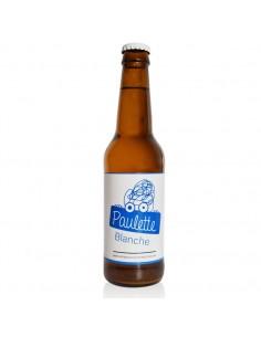 Bière Paulette Blanche bouteille 33cl
