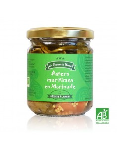 Asters Maritimes BIO en marinade pot 200g