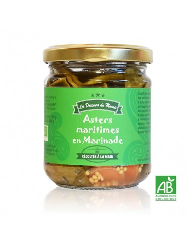 Asters Maritimes de Guérande en Marinade 200g