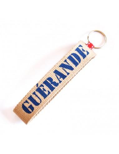 Porte clef en toile Guérande
