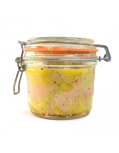 Foie de Gras de canard entier cuit dans son bocal 300g