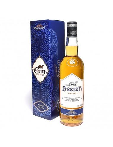 Whisky breton Breizh Blend 70cl