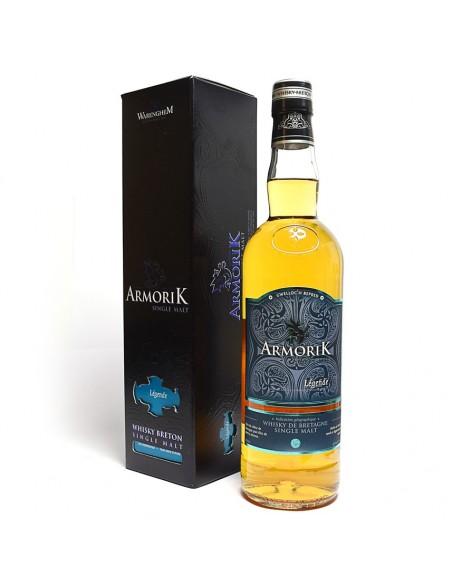 Whisky breton Armorik Légende single malt 70cl
