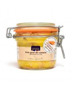 Foie de Gras de canard entier cuit dans son bocal 180g