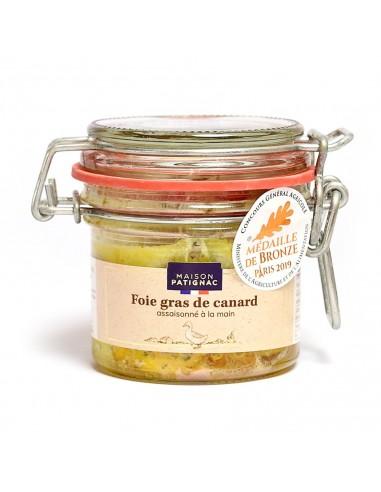 Foie de Gras de canard entier cuit dans son bocal 90g
