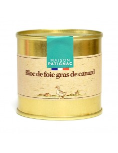 Foie Gras de canard en conserve 100g | Maison Patignac