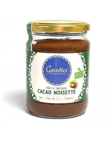 Gavottes Pâte à tartiner cacao noisettes 350g