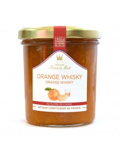 Confiture Orange Whisky 220g - Francis Miot