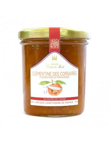 Confiture Clémentine Corse 220g - Francis Miot