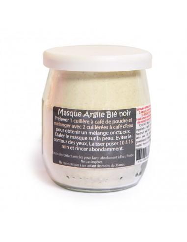 Masque argile Blé Noir