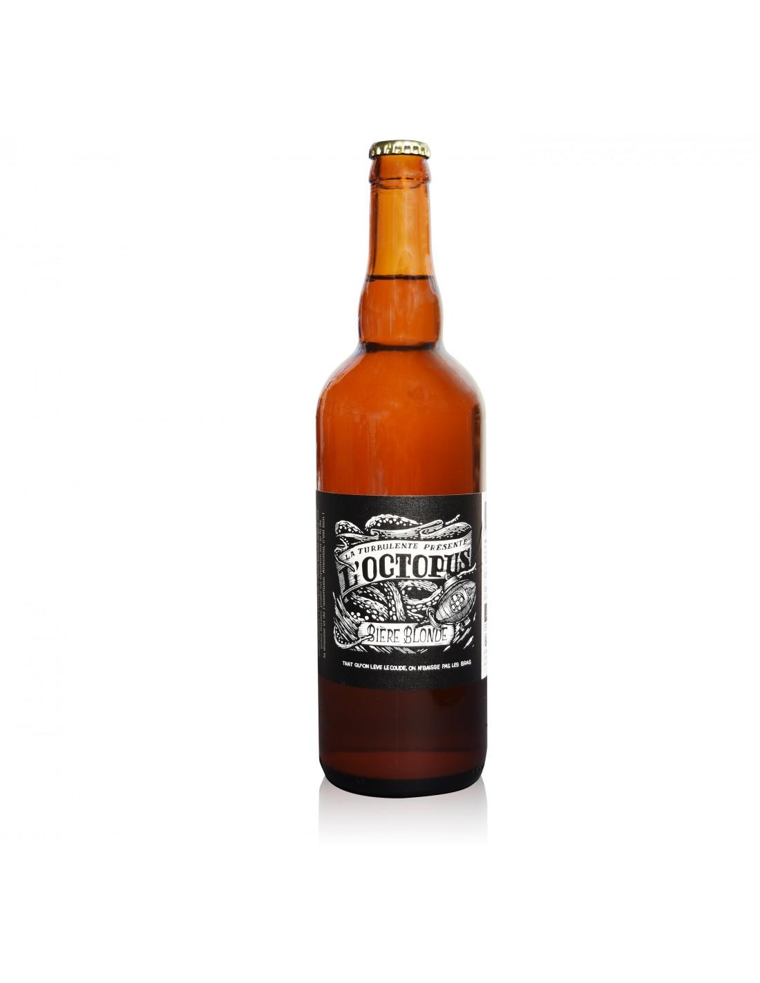 33cl Bière rousse Etiquette de bière Fleur des iles