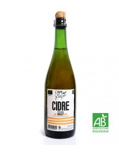 Cidre Brut Bio Artisanal Breton 75cl - Atelier de la Pépie