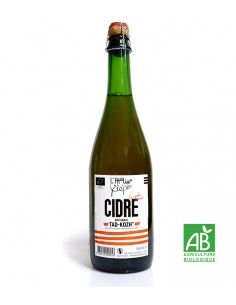 Cidre Extra Brut Bio Artisanal Breton 75cl - Atelier de la Pépie