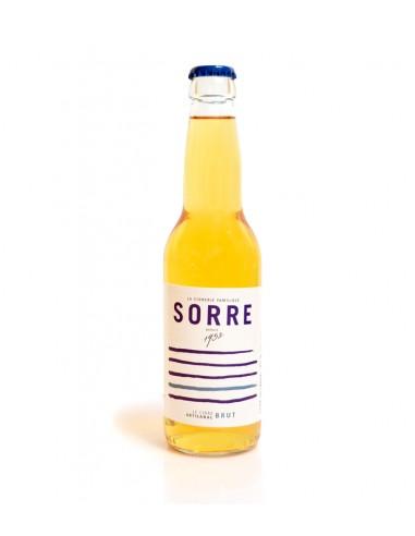 Cidre breton brut bouteille 33cl - cidrerie Sorre