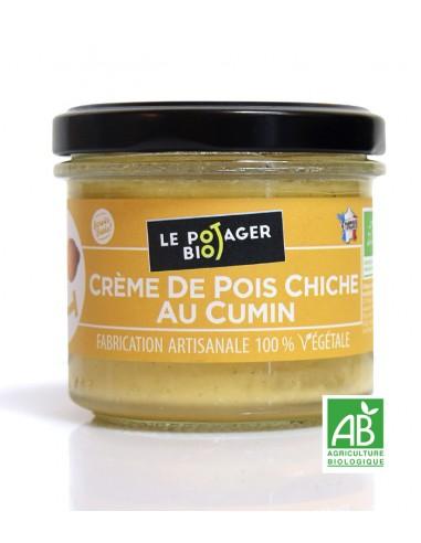 Crème de pois chiche au cumin - BIO - 100% Végétale