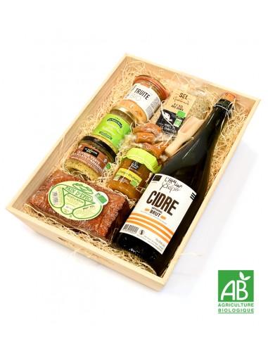 coffret cadeau produits bio