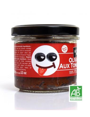 Olivade Noire aux tomates | Bio