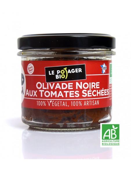 olivade noire aux tomates potager bio