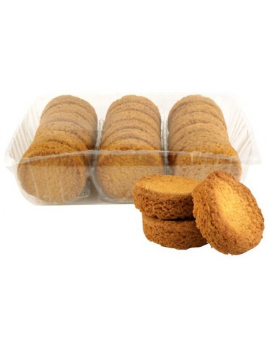 Boîte à sucre en fer Goëlette de Chasse fin XVIIIe garnie de biscuits