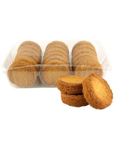 Boîte à sucre en fer Plage de Trégastel garnie de biscuits