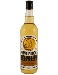 Whisky breton Gwenroc bouteille 70cl