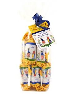 Sachet de 12 sucettes caramel au beurre salé au Sel de Guérande