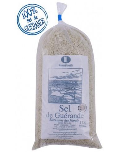 Sel gris de Guérande sac 1kg