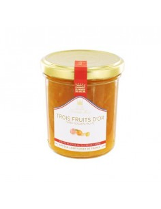 Confiture trois fruits d'or 220g - Francis Miot