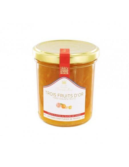 Confiture trois fruits d'or 220g - Francis Miot