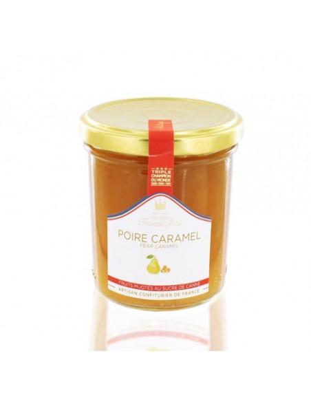 Confiture Poire caramel 220g - Francis Miot