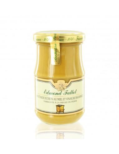Moutarde au Miel & Vinaigre Balsamique 210g - Edmond Fallot
