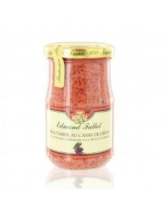 Moutarde au cassis de Dijon 210g - Edmond Fallot