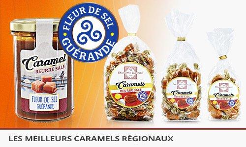 Caramels à fleur de sel de Guérande